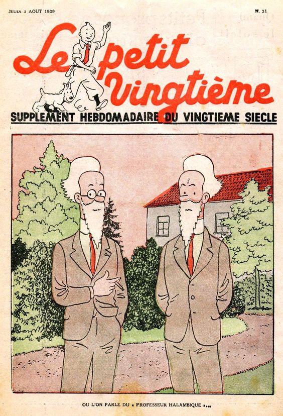 les frères Halambique, ou le duo Otlet-Lafontaine ?